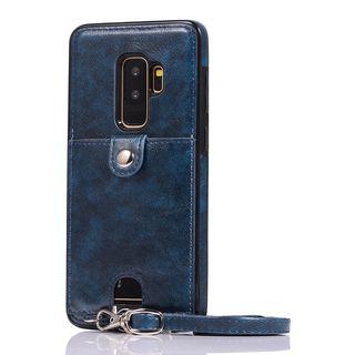 CeLLEAGUE - Faux Leather Card Holder Mobile Case - iPhone XS Max / XS / XR / X / 8 / 8 Plus / 7 / 7 Plus / 6s / 6s Plus