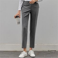 PIPPIN - Band-Waist Tapered Pants