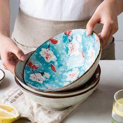 Modern Wife(モダンワイフ) - Floral Print Ceramic Bowl