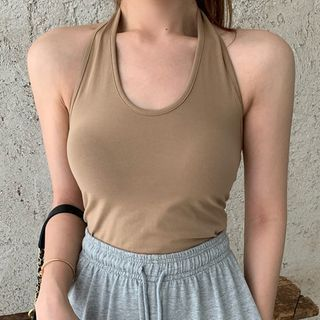 Mon Mon Muffy - Halter-Neck Top