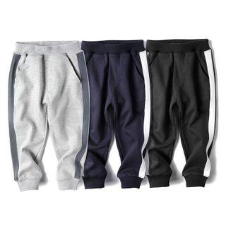 Happy Go Lucky - Kids Color Panel Sweatpants