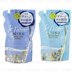 Kose - Je l'aime Amino Amazing Sleek Treatment Refill 400ml - 2 Types