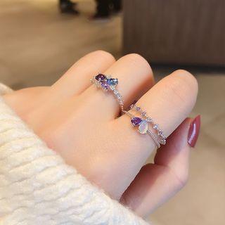 Ticoo - Rhinestone Ring (Various Designs)
