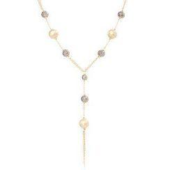 Keleo - 18K Yellow & Black Gold Necklace