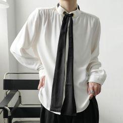 ANCHO - Tie Neck Shirt