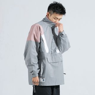 Phoebus - Color Block Windbreaker