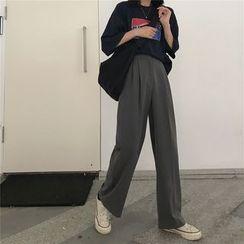 monroll - Wide-Leg Dress Pants