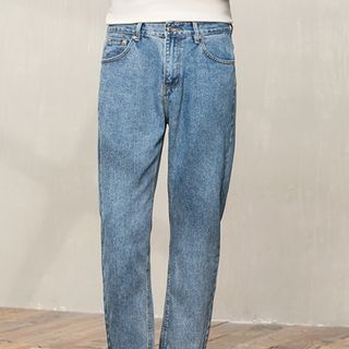 Orizzon - Crop Straight Fit Jeans
