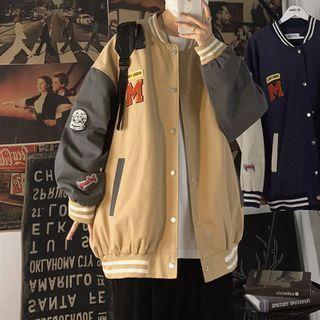 Kimeya - Patched Baseball Jacket