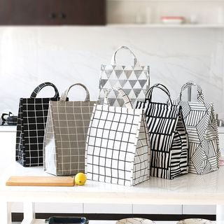 Lindo Bags - Plaid Insulated Lunch Bag