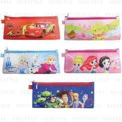 SunToys - Disney Double Zipper Pen Pouch - 5 Types