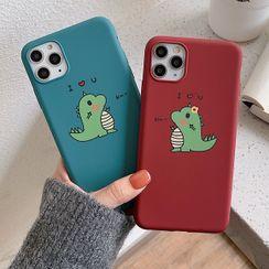 Aion - 情侣小恐龙11Pro/Max苹果X/XS/XR适用手机壳iPhone7p/8plus硅胶套