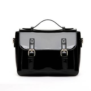 Beloved Bags - Patent Satchel Bag