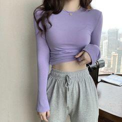 Rerise - 纯色长袖T裇 / 抽绳运动裤