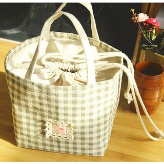 Hyole - Cotton and linen  portable lunch bag