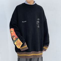 VEAZ - Lettering Loose-Fit Sweater