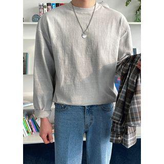 JOGUNSHOP - Pigment-Washed T-Shirt in 10 colors