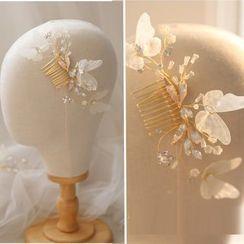 Vivian Design - Wedding Butterfly Hair Fork