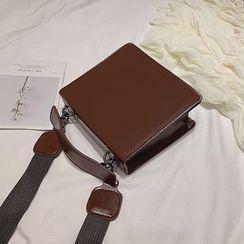 SUMME - Faux Leather Shoulder Bag