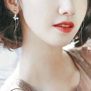 Henya - Butterfly Dangle Earrings