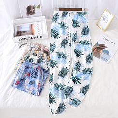 Dogini - Printed Pajama Pants