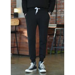 GERIO - Cotton Jogger Pants in 8 Colors