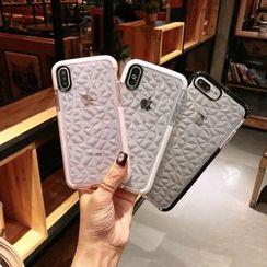 Cellfie - Textured Mobile Case - iPhone XS Max / XS / XR / X / 8 / 8 Plus / 7 / 7 Plus / 6s / 6s Plus