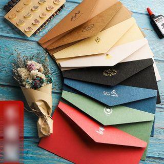 Pecorino - Set: Retro Print Letter Paper + Envelope