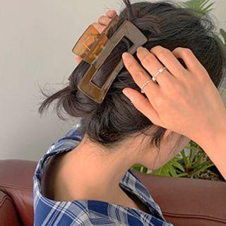 FROMBEGINNING - Rectangular Hair Claw