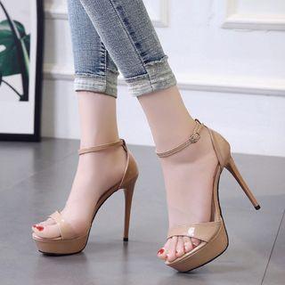 安若 - 高跟厚底凉鞋