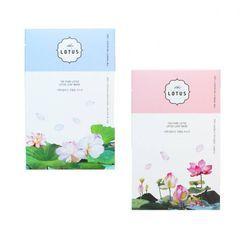 THE PURE LOTUS - Lotus Leaf Mask - 2 Types