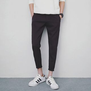 CooLook(クールック) - Cropped Tapered Pants