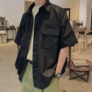 Soulcity - 口袋短袖襯衫