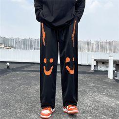 2DAWGS(2ドーグス) - Print Wide Leg Pants