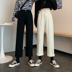 Hippona - Crop Straight Fit Jeans