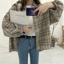 Dute - 格子衬衫