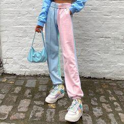 Trisica - Color-Blocked Jogger Sweatpants
