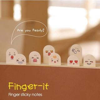 WarmFire - 'Finger' Mini Sticky Notes
