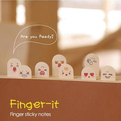 Homey House - 'Finger' Mini Sticky Notes