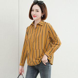 Romantica - 长袖格子衬衫