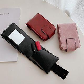 Churori - Faux Leather Lipstick Pouch