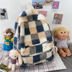 Tango Sky - Patterned Fleece Backpack