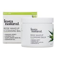 InstaNatural - Rose Makeup Cleansing Balm
