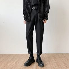 ITIS - Cropped Straight-Fit Pants
