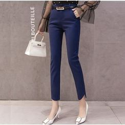 MAVIS - Crop Slim Fit Dress Pants