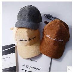 FROME - 刺绣灯芯绒棒球帽