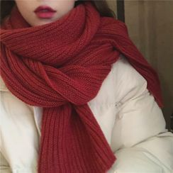 SOCOOL - Plain Knit Scarf