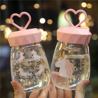 MUMUTO - Printed Glass Drinking Bottle