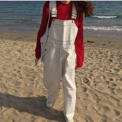 JStyle - Wide-Leg Jumper Pants
