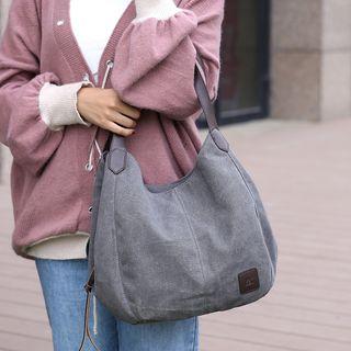 Koln - 贴布帆布手提包